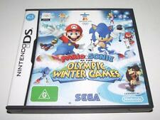Mario & Sonic at the Olympic Winter Games Nintendo DS 3DS Game *Complate*
