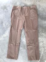 Banana Republic Jackson Fit Beige Dress Trouser Pants Size 14