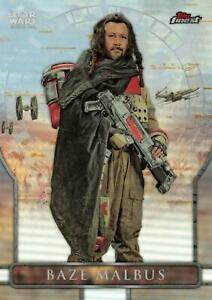 Star Wars Finest (Topps 2018) ROGUE ONE Insert Card RO-2 / BAZE MALBUS