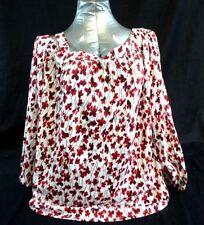 460bf3675bf7f NWT Ralph Lauren Women s Arozka One Shoulder Floral Print Blouse XL