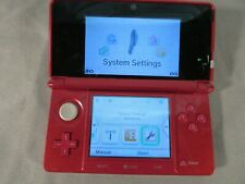 Nintendo 3DS Metallic Red CTR-001