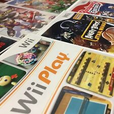NINTENDO WII GAMES YOU PICK & CHOOSE OEM FAST SHIPPING
