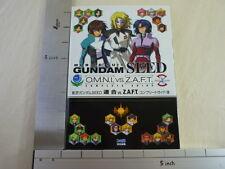 GUNDAM SEED OMNI vs. ZAFT Guide PS Book EB*