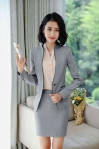 Women Business Blazer and Jacket Sets Work Wear Ol Stylesformal Skirt Suits for