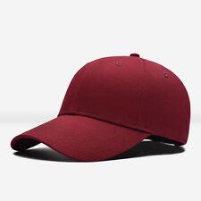 Men Women Black Baseball Cap Snapback Hat Hip-Hop Adjustable Bboy Caps
