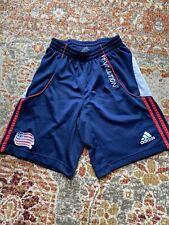 Adidas Mens Small Soccer Shorts New England Revolution