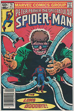 Spectacular SPIDER-MAN 78 Appearance Doc Octopus NEWSSTAND 1983 NM CGC Blu Ray
