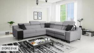 Brand New Corner Sofa Bed With Storage Alicante III