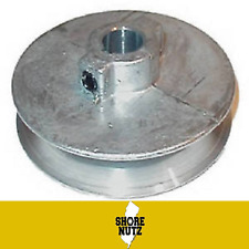 """Chicago Die Cast Single V Groove Pulley A Belt 5"""" OD X 1"""" Bore 500A8"""