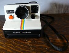Polaroid Land Camera One Step w/Rainbow Stripe Untested Instant Camera