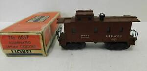 LIONEL 6557 SMOKING CABOOSE