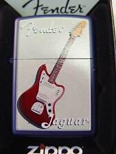 Zippo® Fender Jaguar Royal blue Gitarre Rock Musik Music- New / Neu OVP