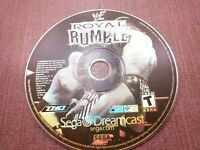 Sega Dreamcast Disc Only Tested WWF Royal Rumble Ships Fast
