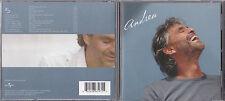 "CD 14T INCLUS 2T BONUS ANDREA BOCELLI ""ANDREA"" DE 2004 TBE"