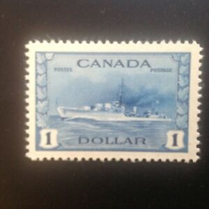 Canada Stamps Mint # 262 Blue Destroyer Very Fine centering NH