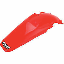 UFO Mx Honda CRF150R 2007-2016 Red Motocross Dirt Bike Rear Fender Plastic
