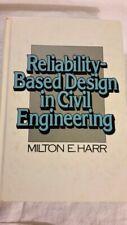 Reliability-Based Design in Civil Engineering, Harr, Milton Edward,0070266972, B