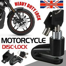Disc Brake Lock Motorbike Bicycle Scooter Motorcycle Security Heavy Duty + Keys