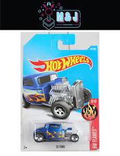 Hot Wheels '32 Ford HW Flames Blue 223/365  (Aussie Seller)