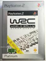 jeu WRC 1 pour playstation 2 PS2 en francais course voiture rally 2001 COMPLET