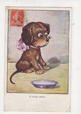 Comic Dog Postcard 1924 France 140b
