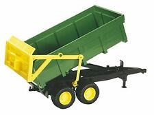 Bruder 2210 Green Tipping Silage Trailer Farm Toy New and boxed