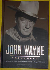 John Wayne Treasures 2012 Movie Star Large Pictorial Biography Great Pics See!