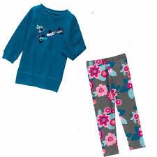 Gymboree 2 pc Butterfly Garden Sequin Bird Top & Floral Leggings 7 8 NWT Retail