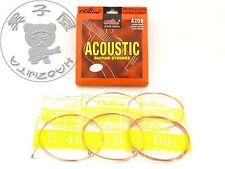 Alice A208L Acoustic/Folk Guitar Strings 1st-6th Strings Light 012-053