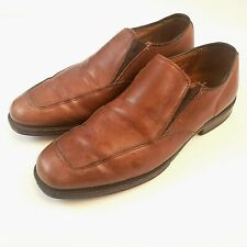 Allen Edmonds Mens Brown Loafers Shoes Milford Made In USA Size 8
