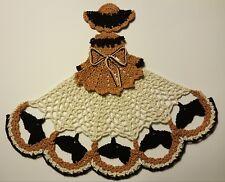 Crochet Crinoline Lady Doily - Horses