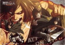 Attack on Titan Shingeki no Kyojin Clear Plate Visual Art Bromide 4 Type 16 Eren