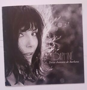 DAPHNE chante BARBARA (avec DOMINIQUE A, BIOLAY, AUBERT) ♦ CD ALBUM PROMO MEDIA♦