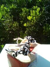 New Zebra Sandals For toddler Girls, Many Sizes.