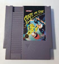 NES Game - Skate or Die - Nintendo - Original Video Game Cartridge
