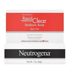Neutrogena Rapid Clear Stubborn Acne Spot Treatment Gel 1 Oz.