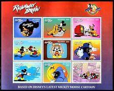 Uganda 1553-1555 Disney characters  Mickey Mouse 70th Birthday 1998 x14673