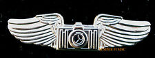 COMBAT AVIATION PHOTOGRAPHER PHOTO CAMERA WING PIN US NAVY MARINES AIR FORCE WOW