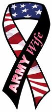 ARMY WIFE Car Ribbon Magnet ***QUALITY***