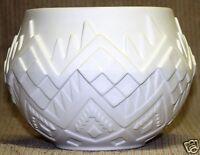 Ceramic Bisque Planter Medium Pot Atlantic Mold 1056 U-Paint Ready To Paint