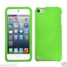 Apple iPod Touch 5 Snap-On Cover Hard Case Phone Accessory Dr Green