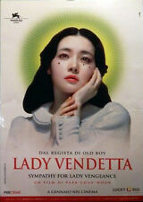 LADY VENDETTA Park Chan-Wook -  espositore LADY VENGEANCE >> vedi