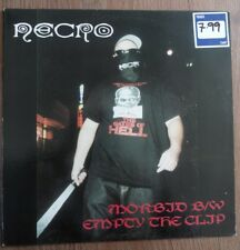 "Necro - Morbid/ Empty The Clip 12"" Vinyl"