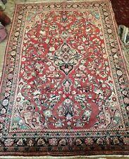Antique Mah Al Handwoven Carpet