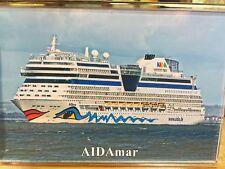 AIDA Cruises AIDAmar Large Fridge Magnet Cruise Southampton/Solent arrival