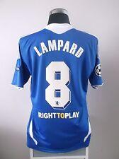Frank lampard #8 bnwt chelsea home cl football shirt jersey 2011/2012 (l)