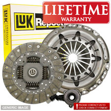 Ford Ka 1.6 I Luk Clutch Kit 3Pc 95 07/03-11/08 Fwd Hatch Cdb Cdc Part