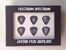 Guitar Pick Display Insert - 4 x  6 Horizontal - HOLDS 6 GUITAR PICKS