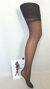 "Nylon Stockings Veil Satin 15D "" Darjeeling "" New Size 3 FR44/46 UK9.5 USA /D42/"
