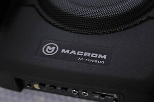 Macrom M-SW800 subwoofer amplificato